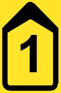 bord 1 Borden omleiding T201b 1 bord 1